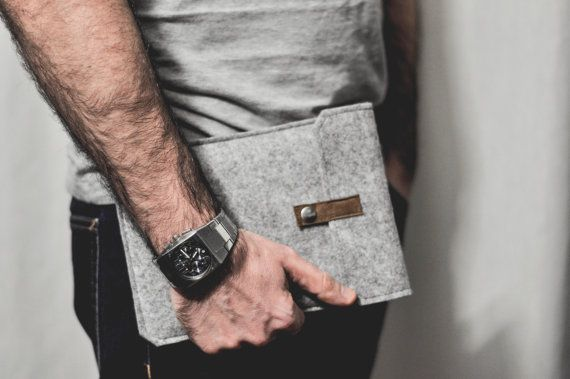 Cover Tablet | Cover Galaxy Pad 2 |  Felt Galaxy Tab Case | Modern Tab Case | Handmade in Italy