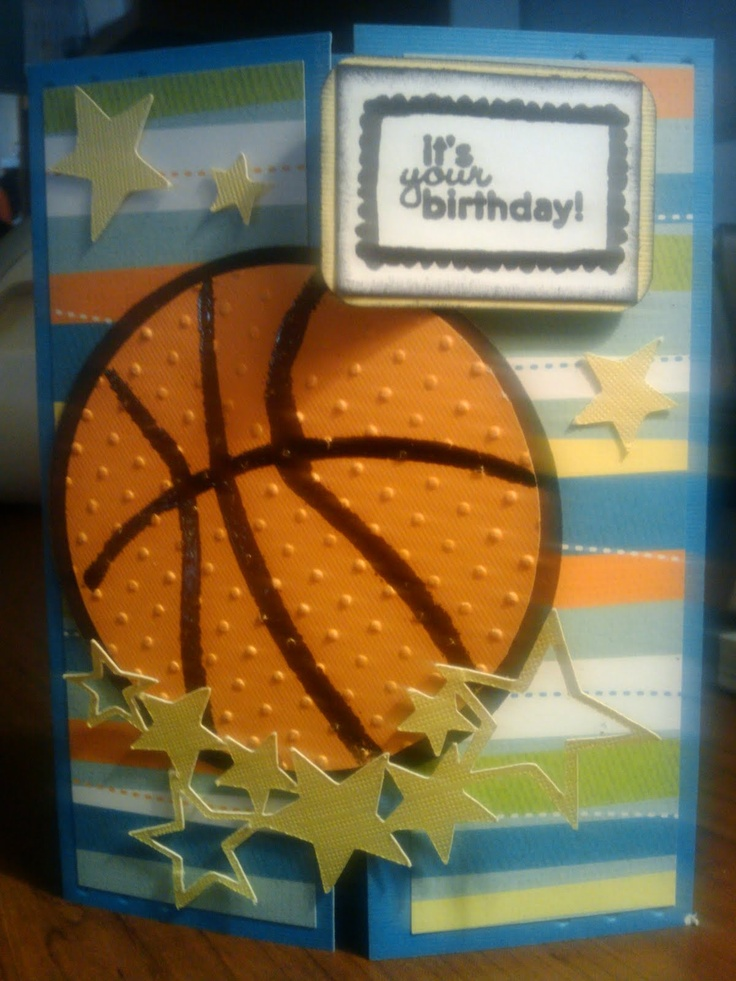 basketball birthday card - Google Search