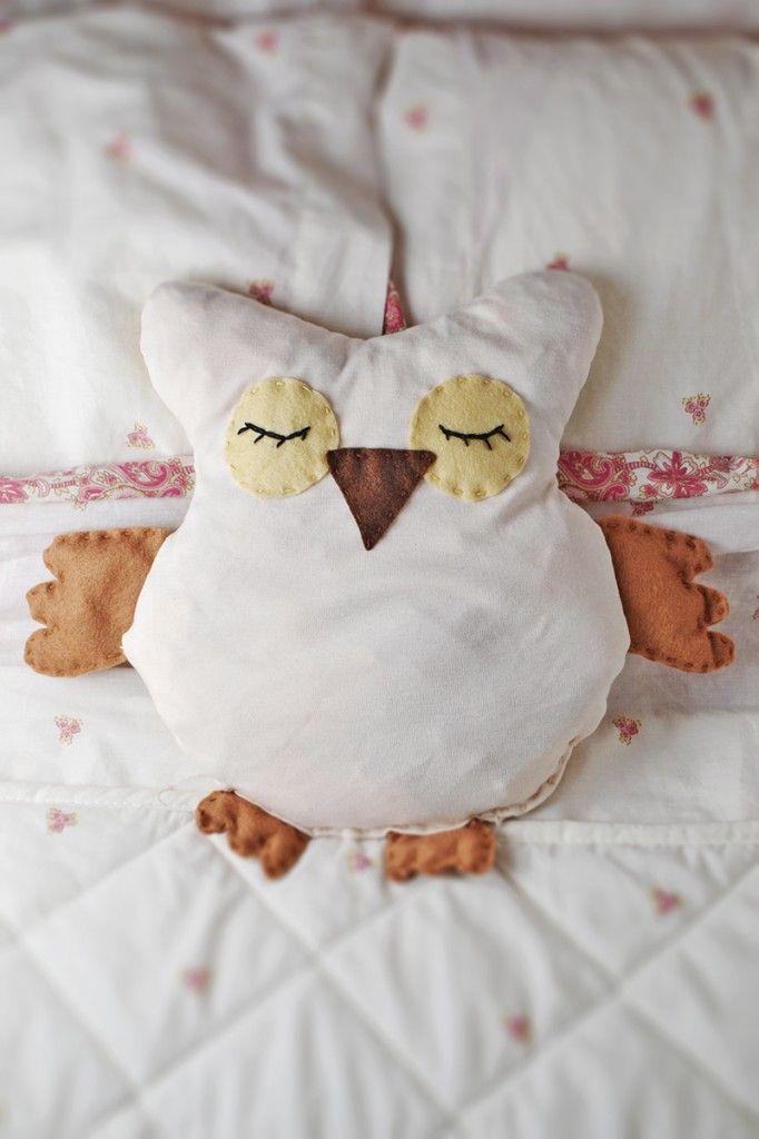 DIY: Heatable Owl Softie