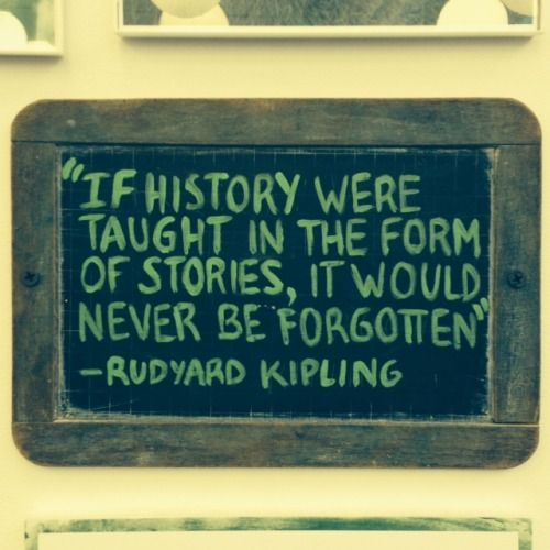 Well said. History is about people. Touching the human side of history is never boring.