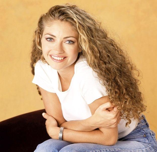 rebecca gayheart curly hair - Google Search