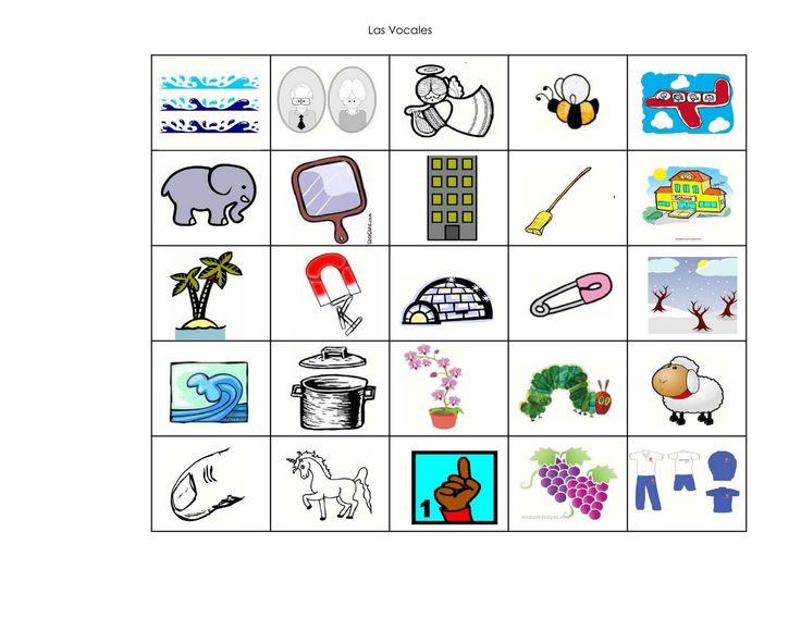 Dibujos De Letras A Color: Figuras Con La Letra E A Color