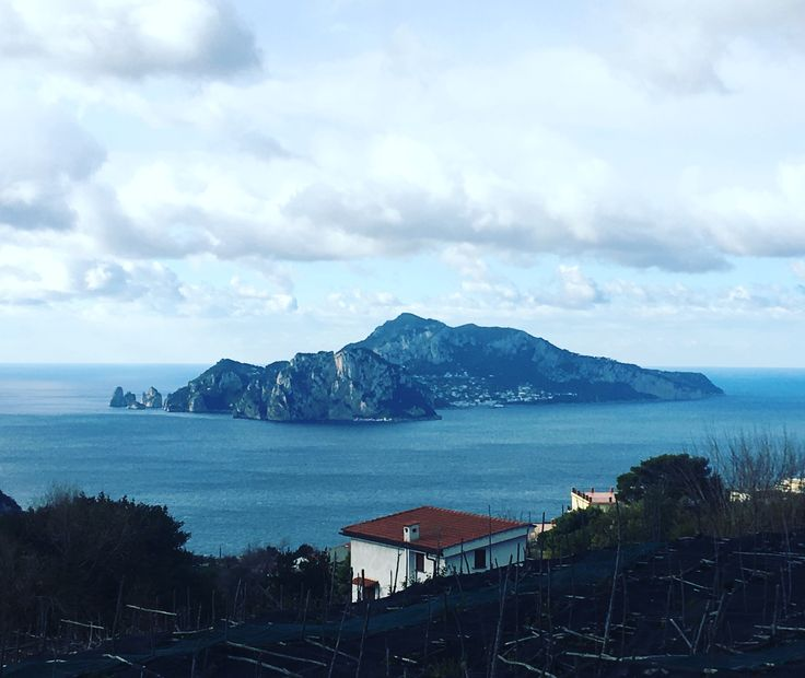 Capri Island from Termini (Massa Lubrense district)
