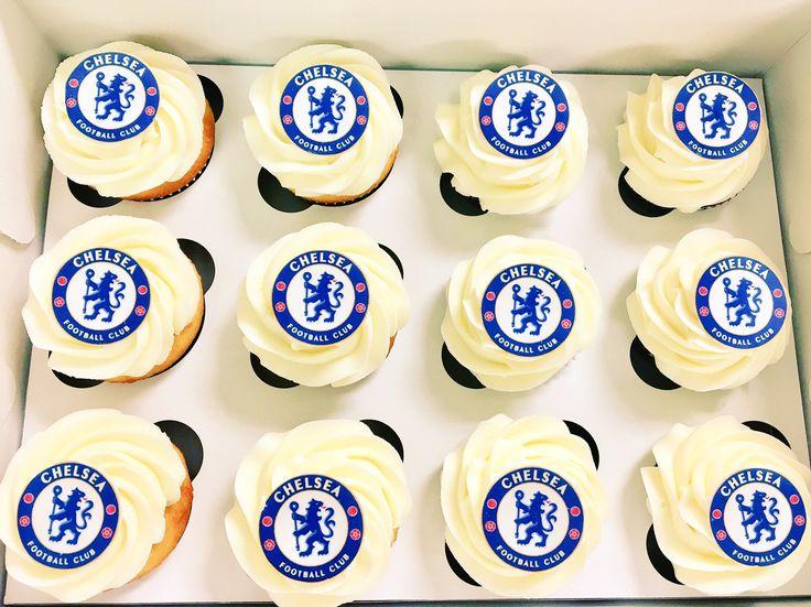 #ChelseaFC #Cupcakes #DvasCakes #Cambridge
