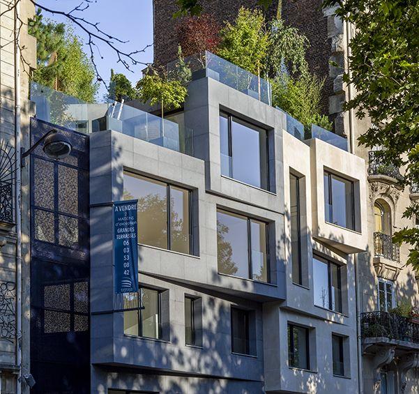 Vincent Eschalier : Maisons Richard et Lenoir - ArchiDesignClub by MUUUZ - Architecture & Design
