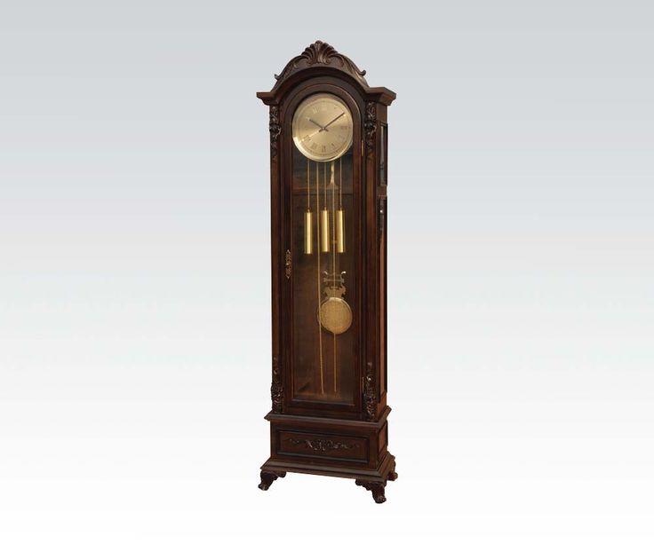 D. Walnut Grandfather Clock  W/P2