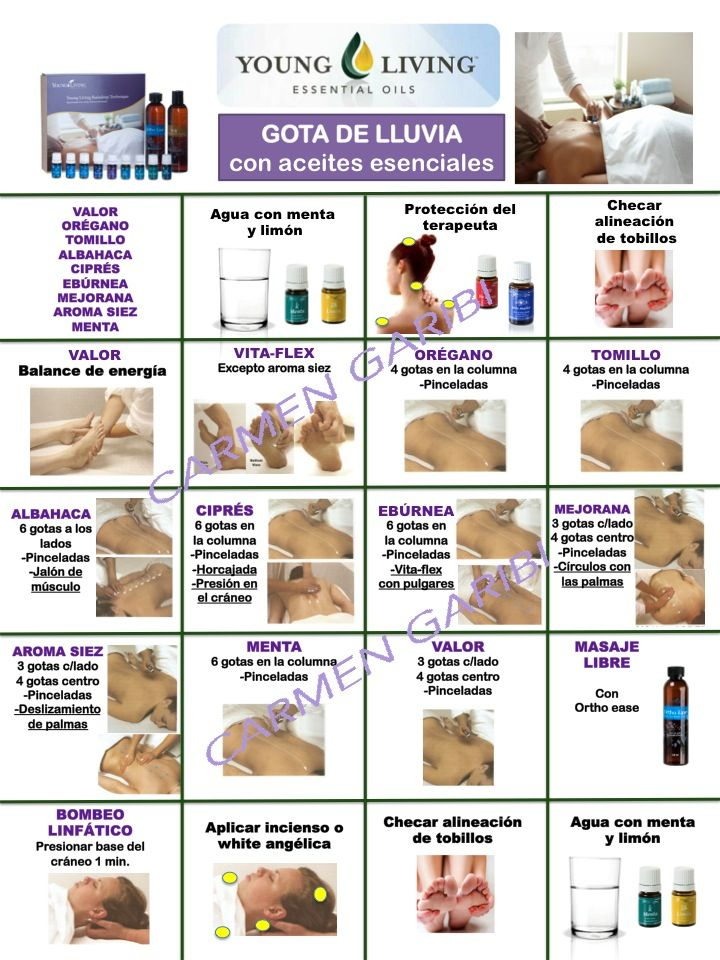 ACEITES ESENCIALES YOUNG LIVING: GOTA DE LLUVIA