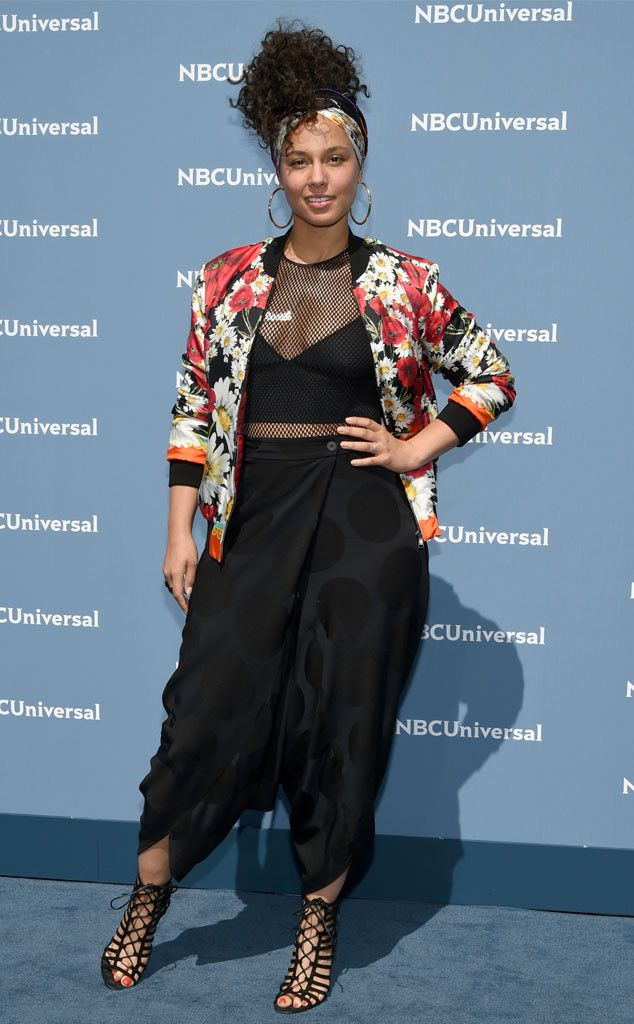 Alicia Keys from NBCUniversal Upfront 2016: Red Carpet Arrivals | E! Online