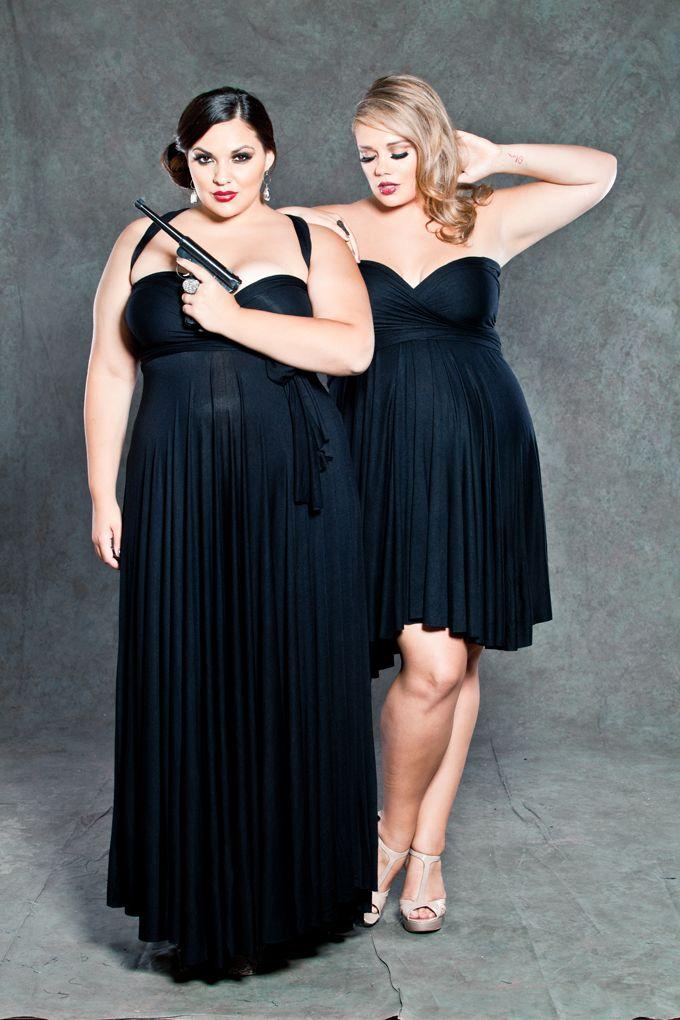 213 Best Curvy Little Black Dresses Images On Pinterest Curvy Girl Fashion Little Black