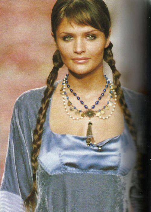 Helena Christensen, Rifat Ozbek F/W 1994