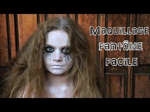 Maquillage fantôme facile et bluffant ! - YouTube