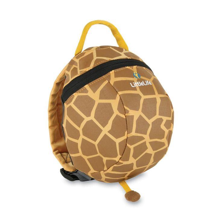 LittleLife - Plecaczek Animal Pack ze smyczą bezpieczeństwa - Żyrafa (od 12mcy)
