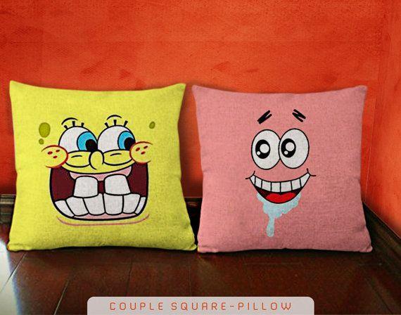 Spongebob Squarepants with Patrick Star Funny Face by KOKONOKI