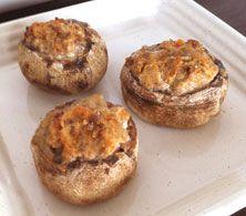 Stuffed Baked Mushrooms - Everyday Style Recipe