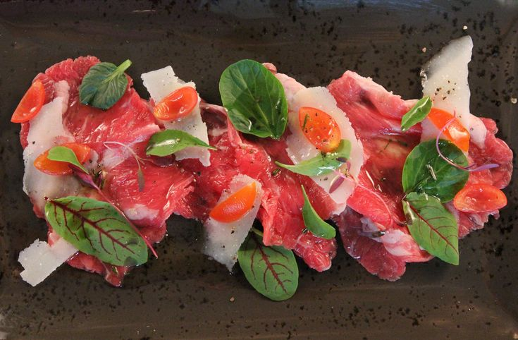 Carpaccio with Sauce Vierge - Make delicious beef recipes easy, for any occasion