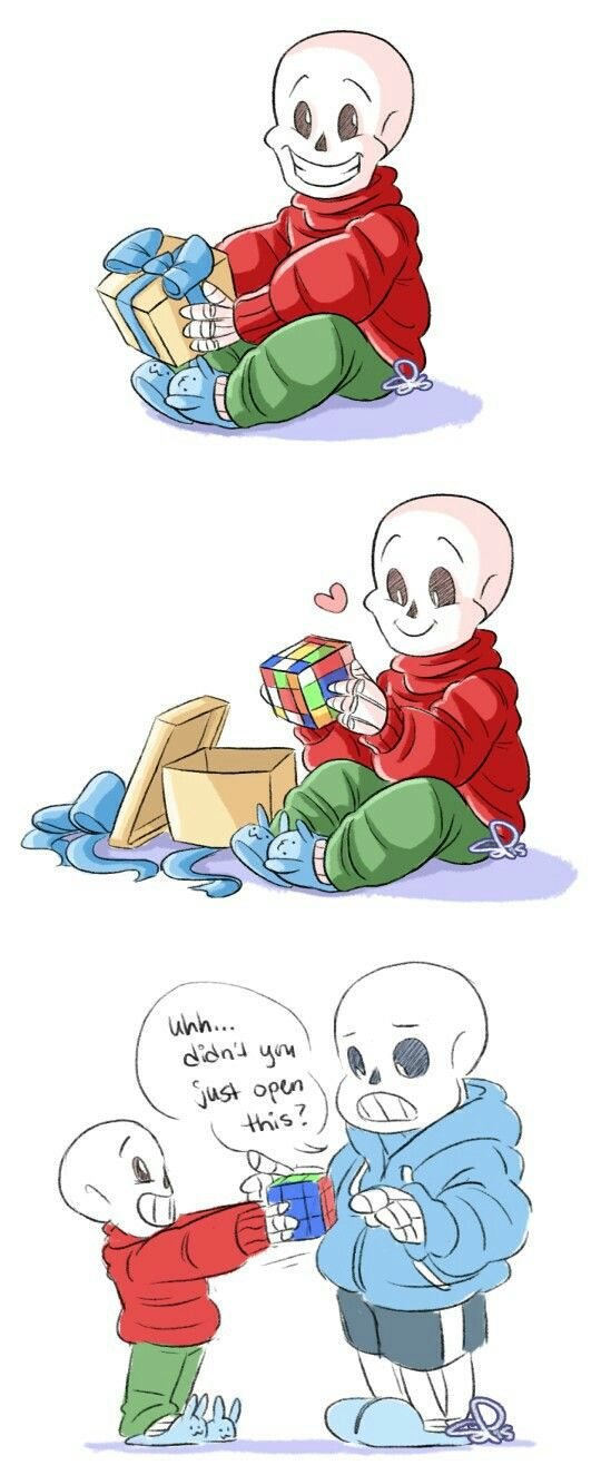 sans and papyrus - babybones