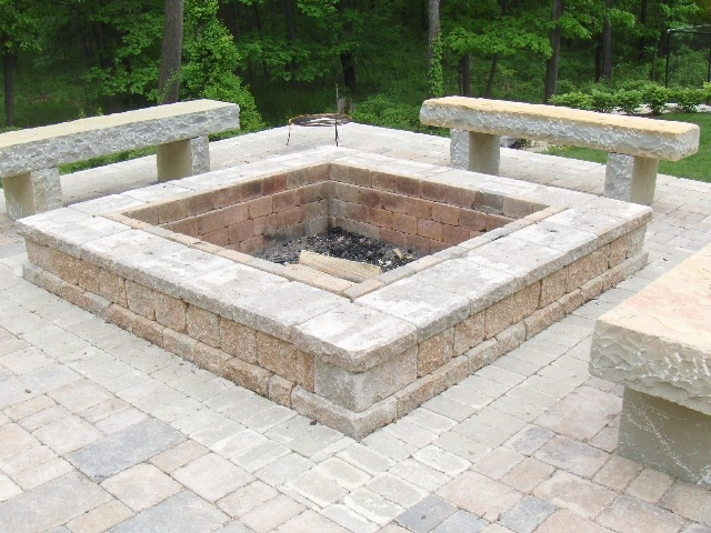 Natural Limestone With Images Outdoor Fire Pit Fire Pit
