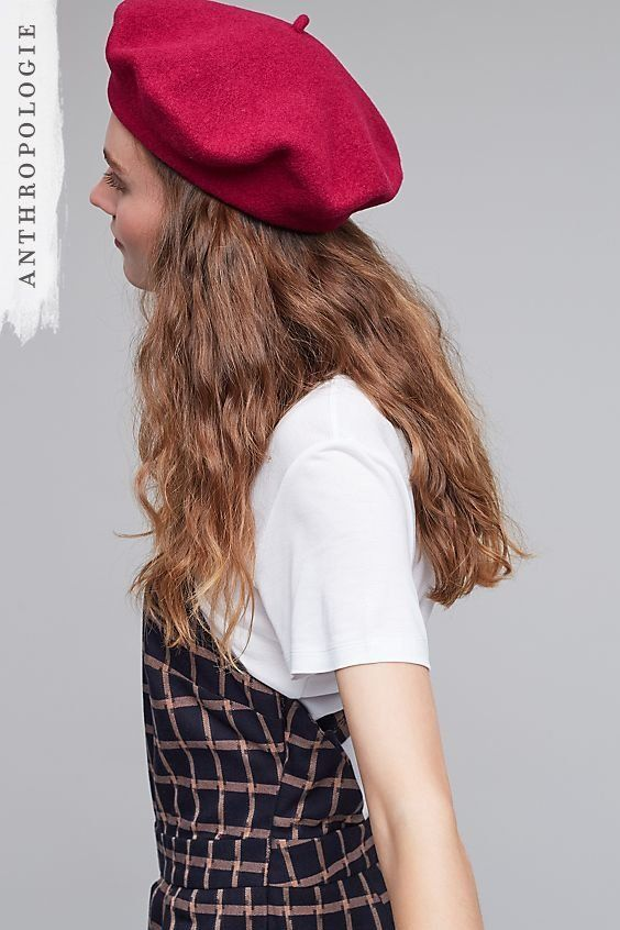 2dc7f1590e2f3 Rock the look of the season with a raspberry beret. Berets  have taken  street style by storm with all the big bloggers rocking one.