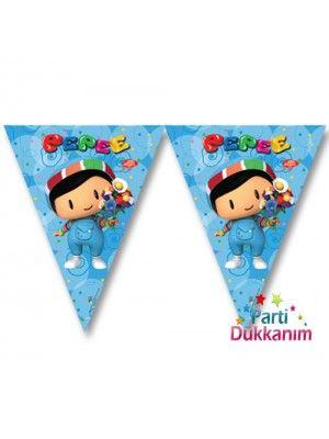 Pepee Doğum Günü Bayrak Süs 3.65 cm