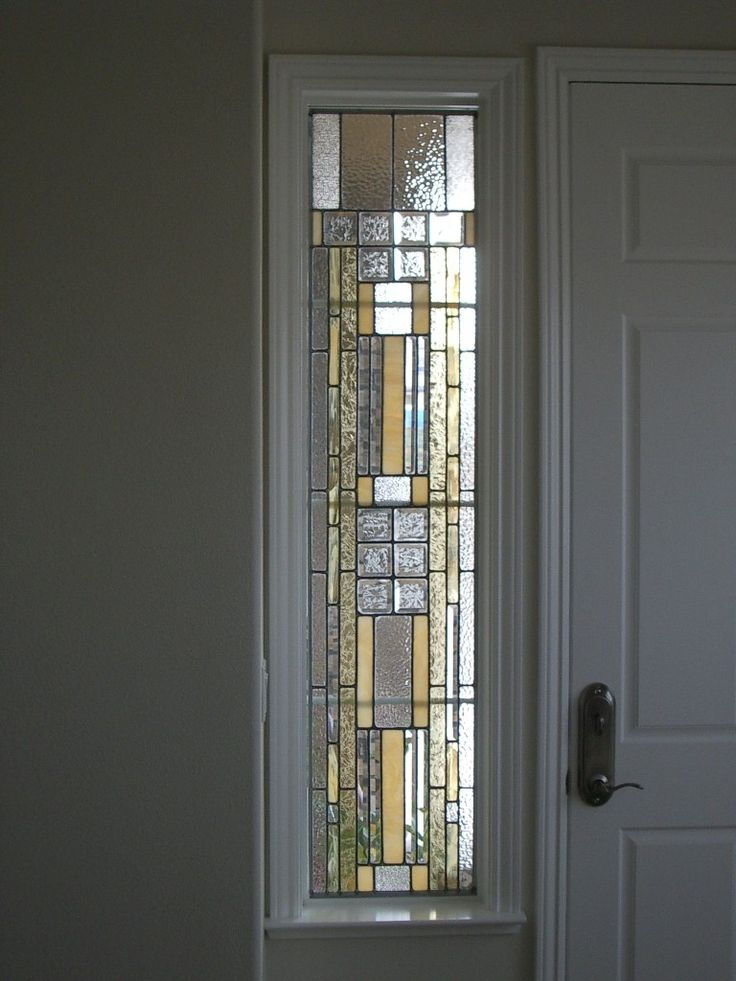Stained Glass Design Showcase - sidelight window   Stained ...
