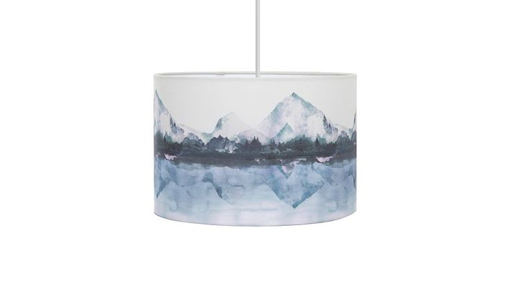 George Home Mountain Scene Drum Light Shade, read reviews and buy online at George at ASDA. Shop from our latest range in Home & Garden. This gorgeous drum l...
