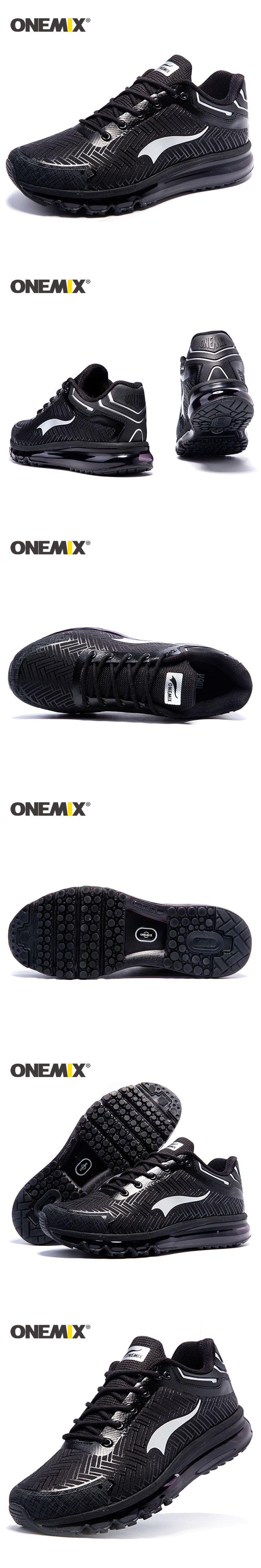 Onemix 2017 Brand men running shoes sports sneakers outdoor walking shoes for men light jogging shoes trekking sneakers man