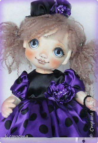 Куклы текстильные.  фото 3
