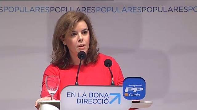 Santamaría ofrece diálogo a Cataluña pero sin celebrar la consulta