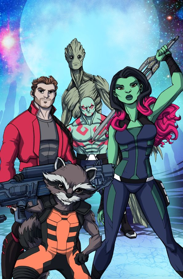 Guardians Of The Galaxy Infinite Comics by LucianoVecchio.deviantart.com on @DeviantArt