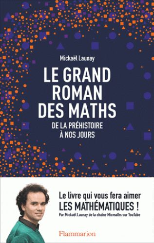 Le grand roman des maths/Mickaël  Launay, 2016 http://bu.univ-angers.fr/rechercher/description?notice=000824425
