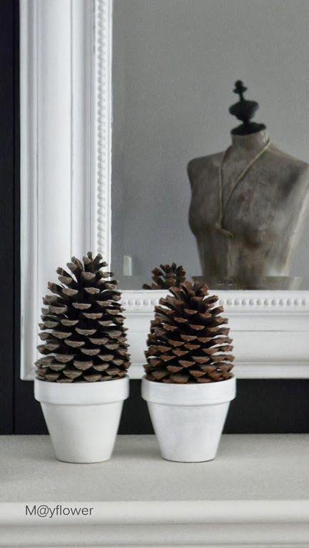 Mooi en simpel ideetje, leuk om het lekker knus te maken tijdens de herfst.