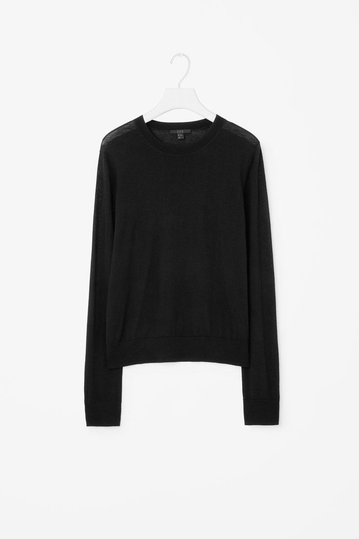 COS | Round-neck wool jumper