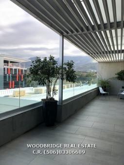 Costa Rica Escazu luxury penthouses for sale Avenida Escazu, $1.000.000 large terrace beautiful view. Last unit left!