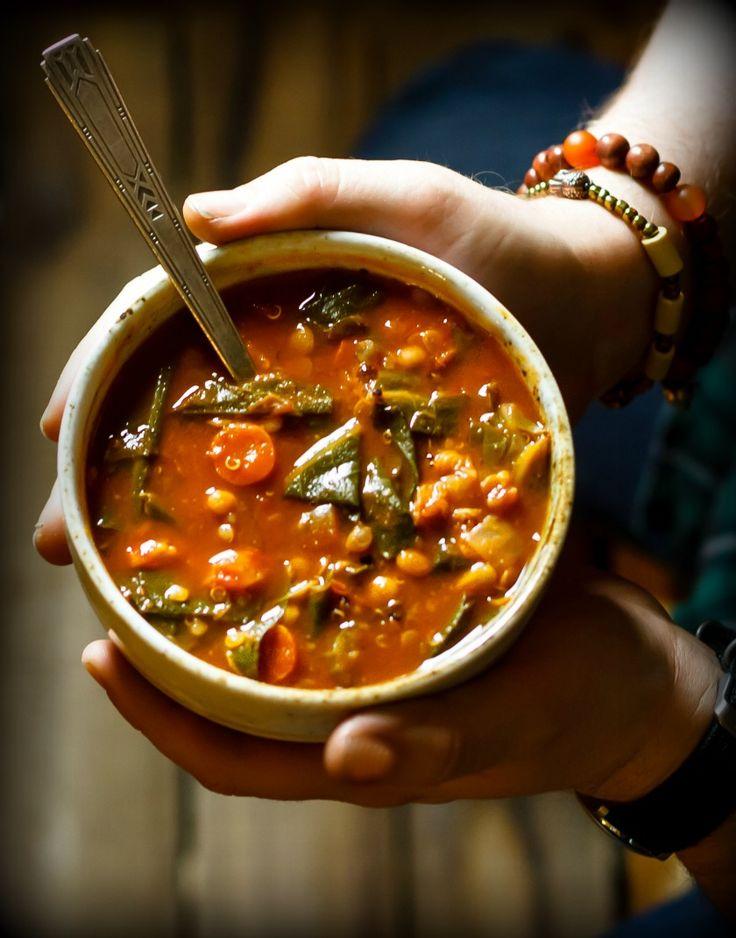 Fat-Busting Vegetarian Collard Greens Soup Recipe