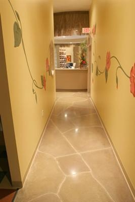 11 best Grey Stained Concrete Floors images on Pinterest Painted