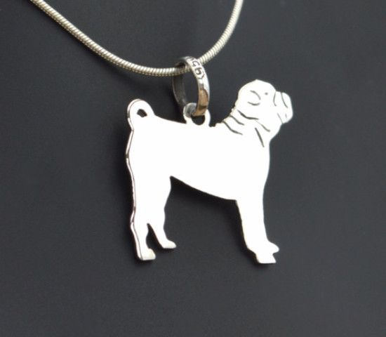 Shar Pei Pendant, Another of the amazing designs that you will only find for the amazing price of £19.99 at www.animal-pendant.com