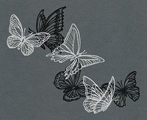 Lot & Ciemne Motyle - Swarm | Miejskie Wątków: Unikalne i niesamowite wzory do haftowania