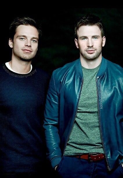 Sebastian Stan & Chris Evans... What more can you ask for?