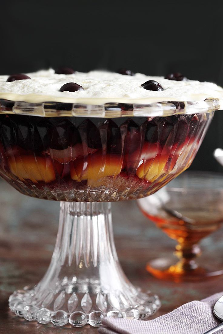 Grandma's traditional Christmas trifle will be a hit at any festive party! Recipe by the Australian Women's Weekly.