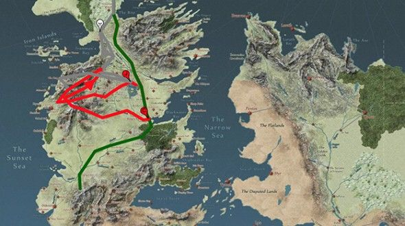 Interactive maps of Westeros makes Game of Thrones less confusing