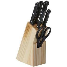 7 Piece Knife Block Set | Kmart