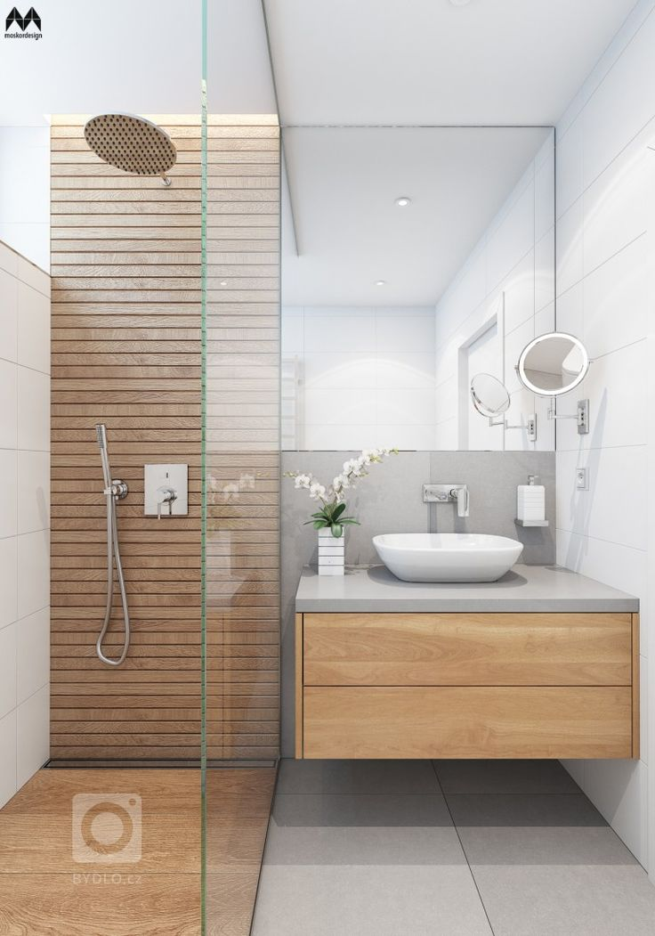 the floor tile and vanity? not the shower though, …