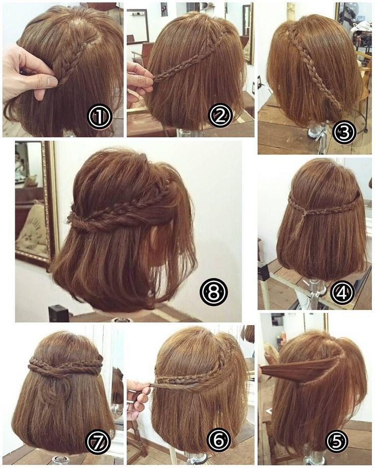 For weddings ♡ Short hair 10 arrangements Arrangements-LOCARI (Lokari)