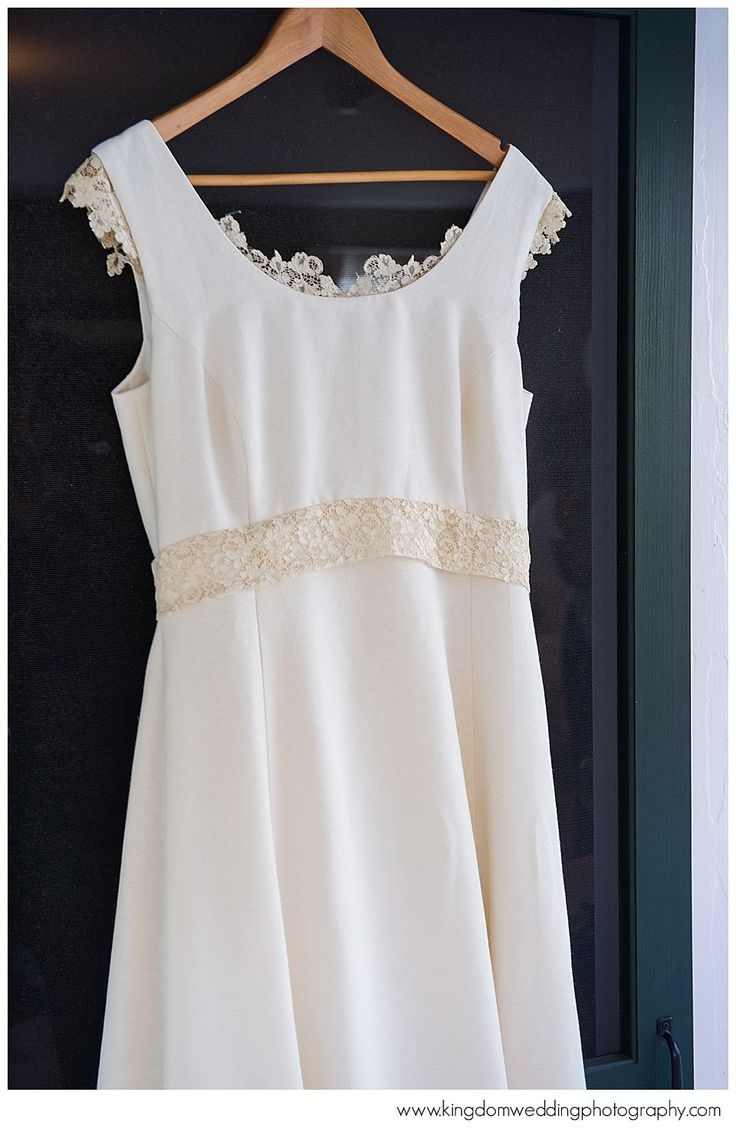 17 best images about cotton wedding dresses on pinterest for Simple cotton wedding dress