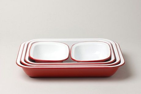 Falcon Enamelware Bake Set traditional-bakeware-sets
