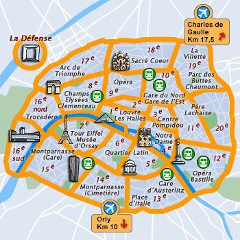 Paris, France - Travel Guide and Travel Info ~ Tourist Destinations