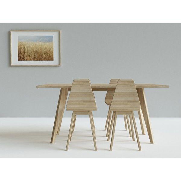Krzesło drewniane Form dąb