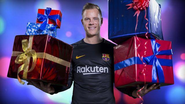 Merry  Xmas from FC Barcelona