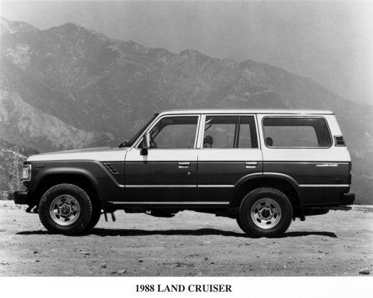 1988 Land Crusier FJ62.