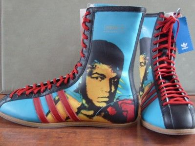 Muhammad Ali Limited Edition Andy Warhol Adidas Boxing Boots